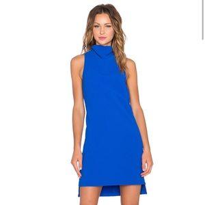 Elliatt Contemporary Shift Dress In Cobalt